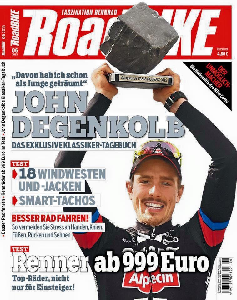 ROADBIKE-Titelbild, Ausgabe 7/2015