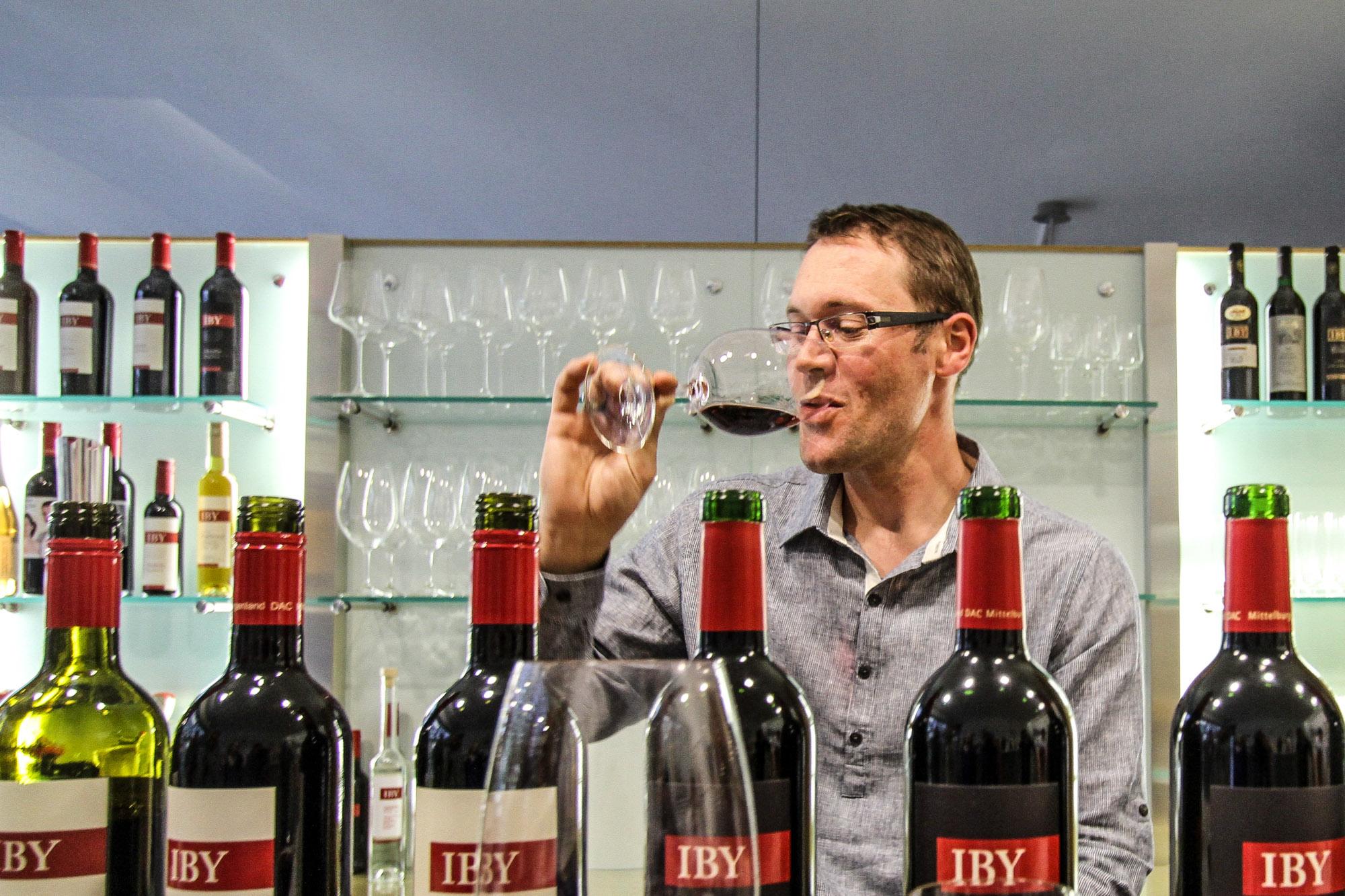 Anton Iby verkostet seine Rotweine