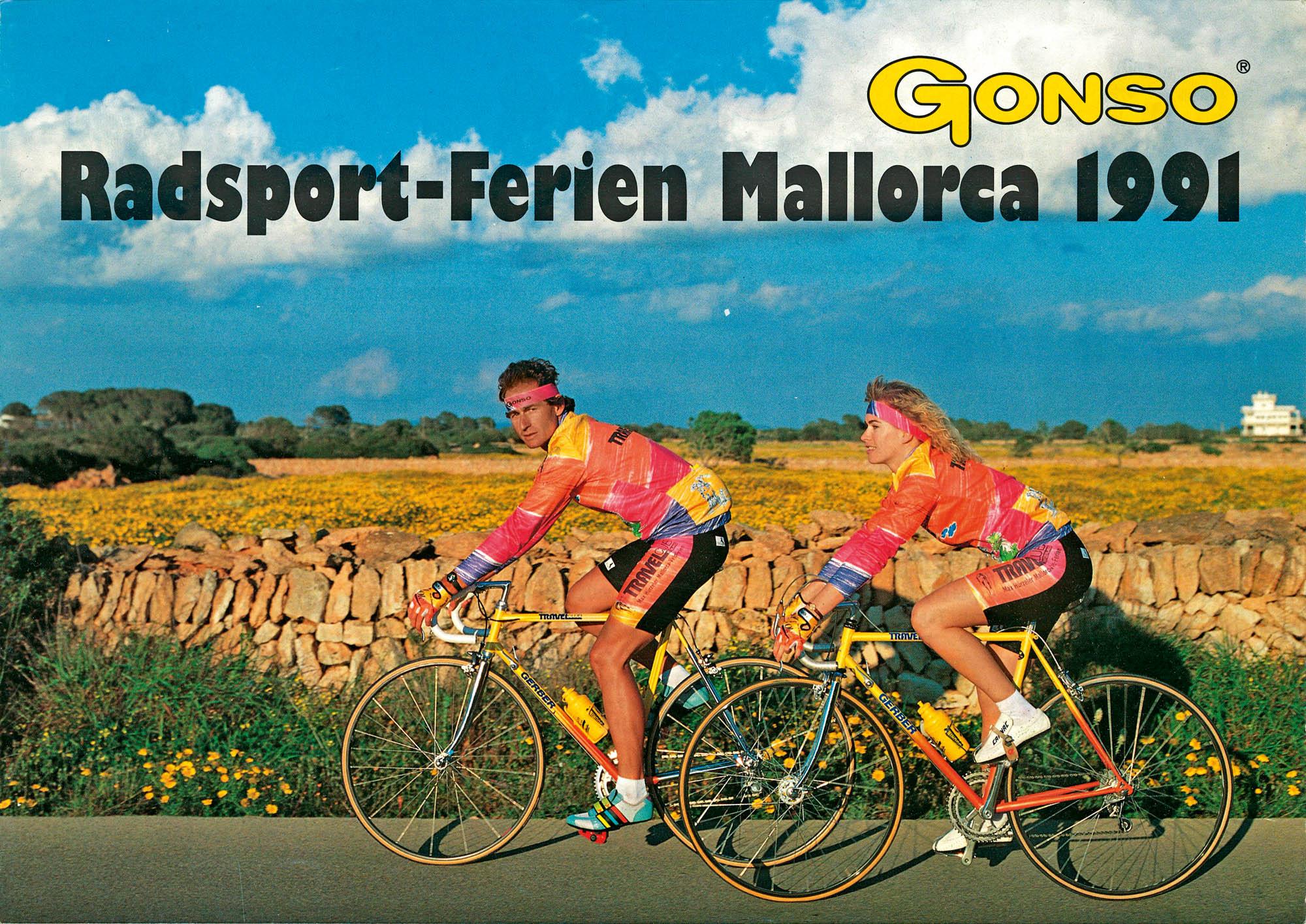 Ein Werbeplakat von 1991