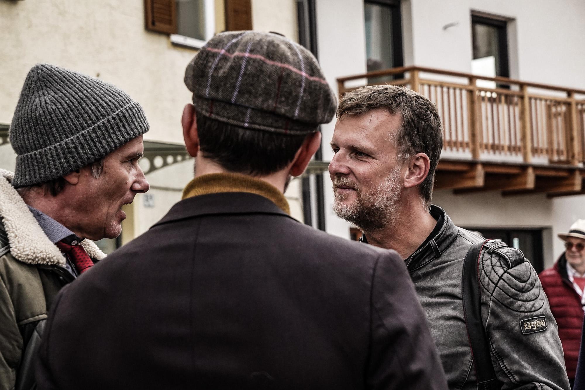 Jens Vögele im Gespräch mit John Jürgens